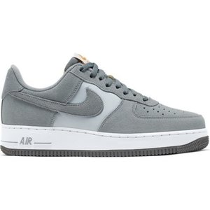 Nike Nike Air Force 1 Suede Grijs Wit