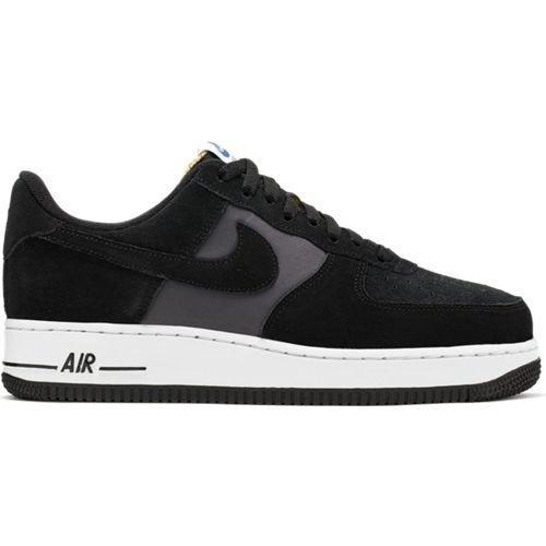 Nike Nike Air Force 1 Suede Zwart Grijs