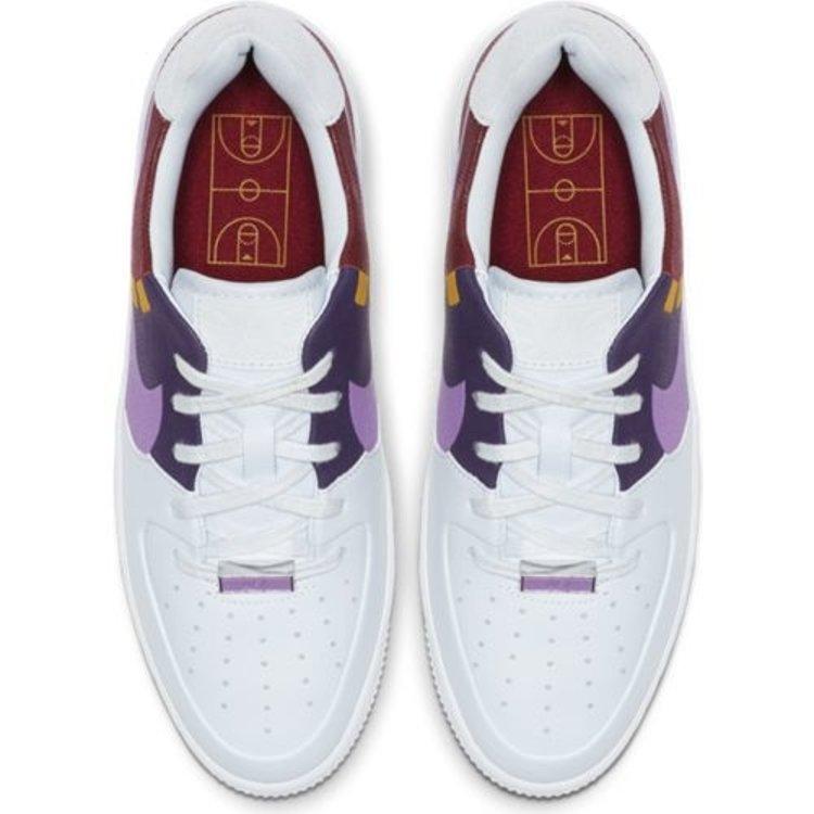 Nike Nike Air Force 1 Sage Laag LX Weiß Lila
