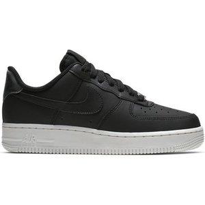 Nike Nike Air Force 1 Leer Schwarz Weiß