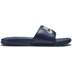 Nike Nike Benassi Just Do It Donkerblauw