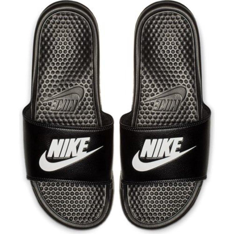 Nike Nike Benassi Just Do It Schwarz Weiß