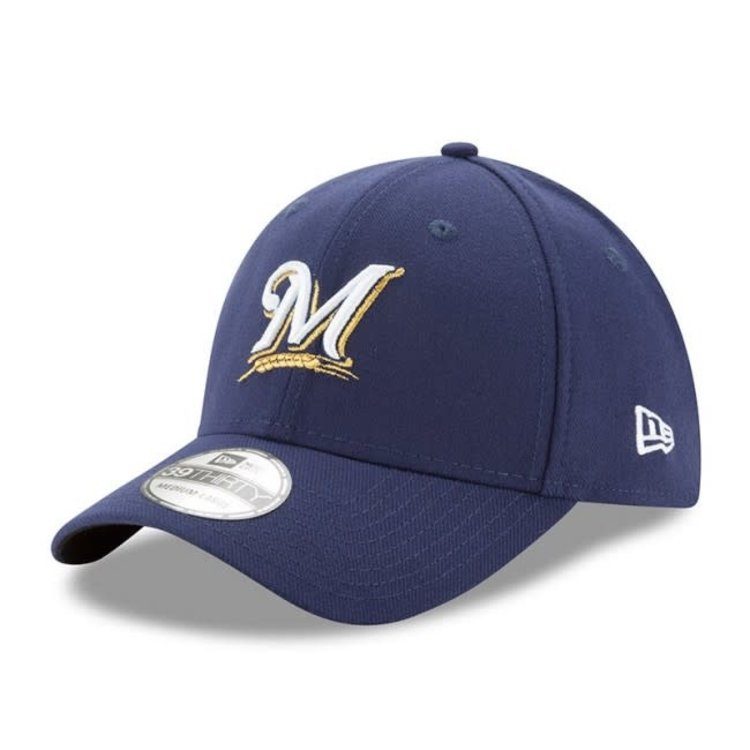 sleek cheap sale buy popular New Era Milwaukee Brewers MLB 9Forty Cap The League | Burned ...
