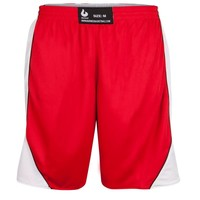 Burned Double Sided Short Red White