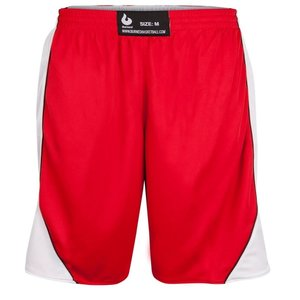 Burned Burned Dubbelzijdig Short Rood Wit