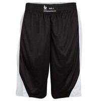 Burned Double Sided Short Black White