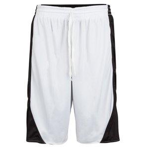 Burned Burned Beidseitig Short Schwarz Weiß