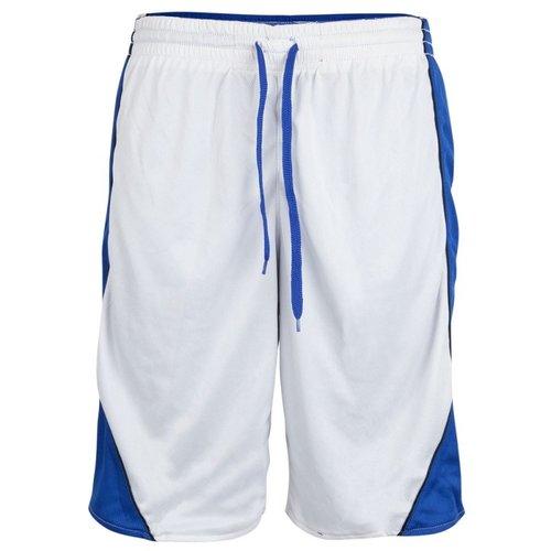 Burned Burned Beidseitig Short Blau Weiß