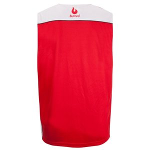Burned Burned Beidseitig Jersey Rot Weiß