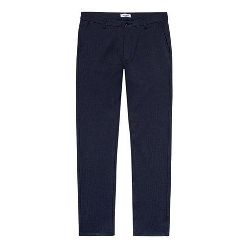 Woodbird Woodbird Steffen Twill Pantalon Navy Blue
