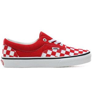 Vans Vans Era Checkerboard Rouge