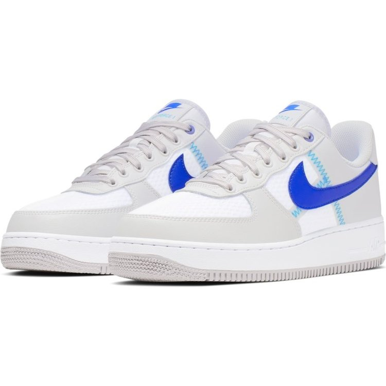 Nike Nike Air Force 1 '07 LV8 Wit Grijs Blauw