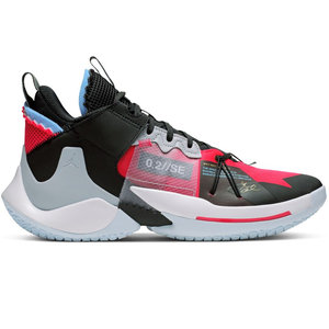 Jordan Basketball Jordan Why Not Zer0.2 SE Fel Rood Zwart Wit