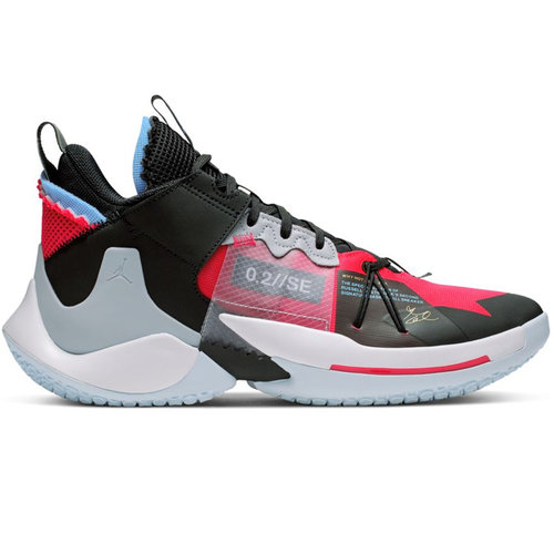Jordan Basketball Jordan Why Not Zer0.2 SE Bright Red Black White