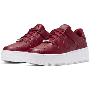 Nike Nike Air Force 1 Sage Low Bordeaux Wit