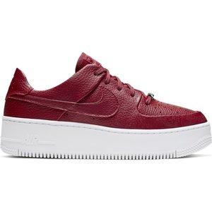 Nike Nike Air Force 1 Sage Low Bordeaux Weiß