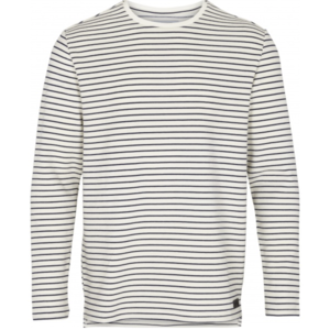 Just Junkies Just Junkies Member Striped Tee  Weiß Navy
