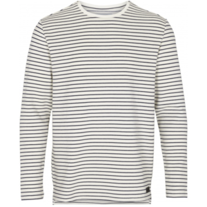 Just Junkies Just Junkies Member Striped Tee Wit Navy