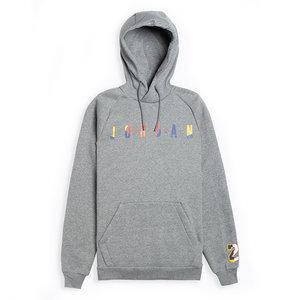 Nike Jordan DNA Pullover Hoodie Grau