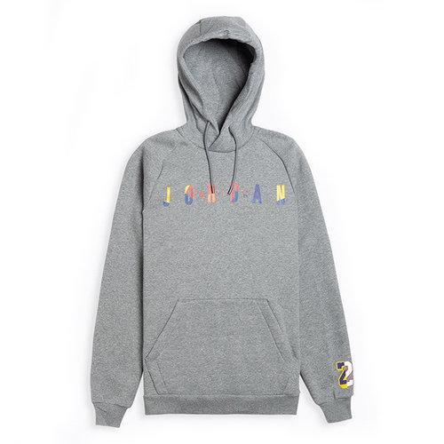 Nike Jordan DNA Pullover Hoodie Grey