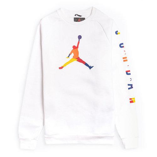 Nike Jordan DNA Crewneck Weiß