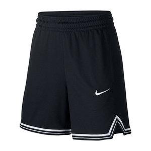 Nike Nike Mesh Dri-Fit Short Dames Zwart Wit