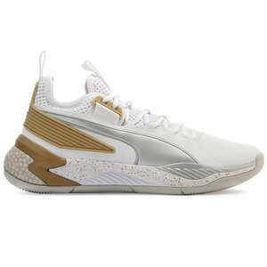 Puma Basketball Puma Uproar Core Low White Gold Silver