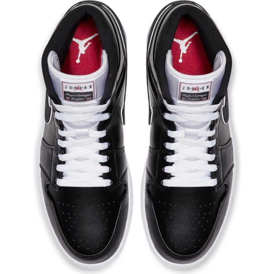 Jordan AIr Jordan 1 Mid Zwart Wit