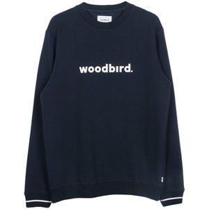 Woodbird Woodbird Mufti Karl Crewneck Blue