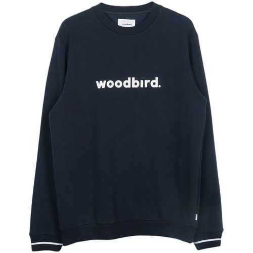 Woodbird Woodbird Mufti Karl Crewneck Blau