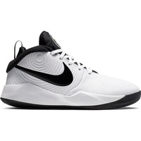 Nike Team Hustle GS 9 Wit Zwart