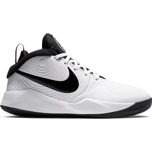 Nike Basketball Nike Team Hustle GS 9 White Black