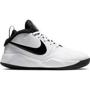 Nike Basketball Nike Team Hustle GS 9 White Black