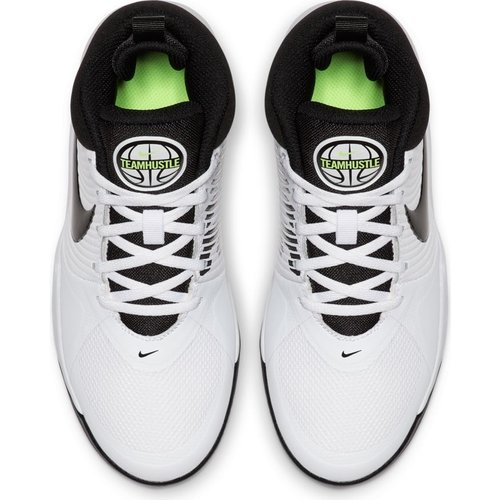 Nike Basketball Nike Team Hustle GS 9 Wit Zwart