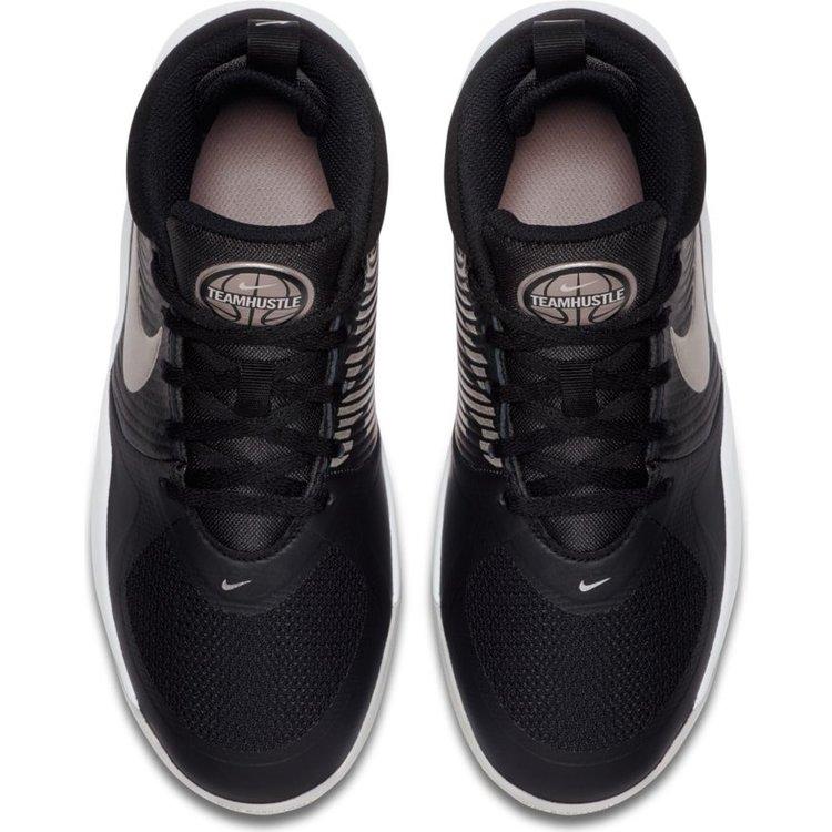 Nike Basketball Nike Team Hustle 9 PS Schwarz Weiß