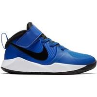 Nike Team Hustle 9 PS Blauw Zwart
