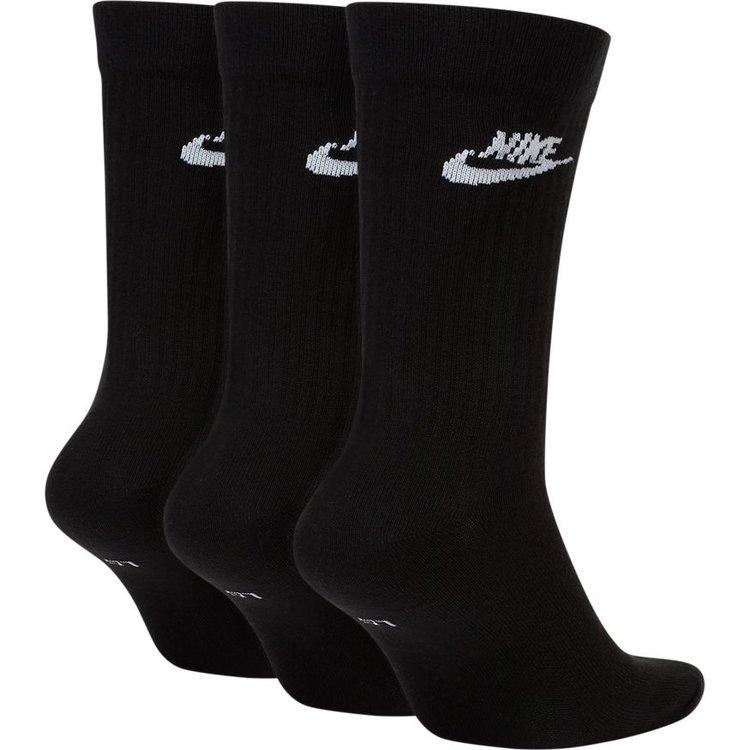 Nike Nike Everyday Essential Crew Sokken 3 paar Schwarz