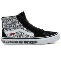 Vans x Baker Skateboards Sk8-Hi Pro Zwart Wit