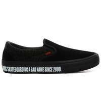 Vans x Baker Skateboards Slip-On Pro zwart