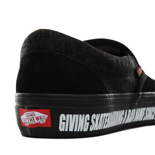 Vans Pro Vans x Baker Skateboards Slip-On Pro zwart