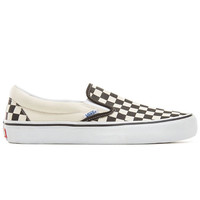 Vans Slip-On Pro Checkerboard Zwart Wit