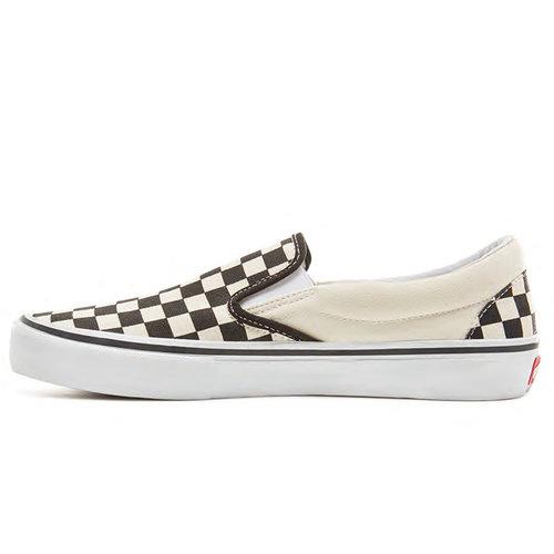 Vans Pro Vans Slip-On Pro Checkerboard Zwart Wit
