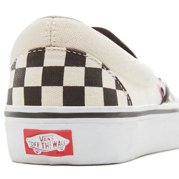Vans Pro Vans Slip-On Pro Checkerboard schwarz weiß