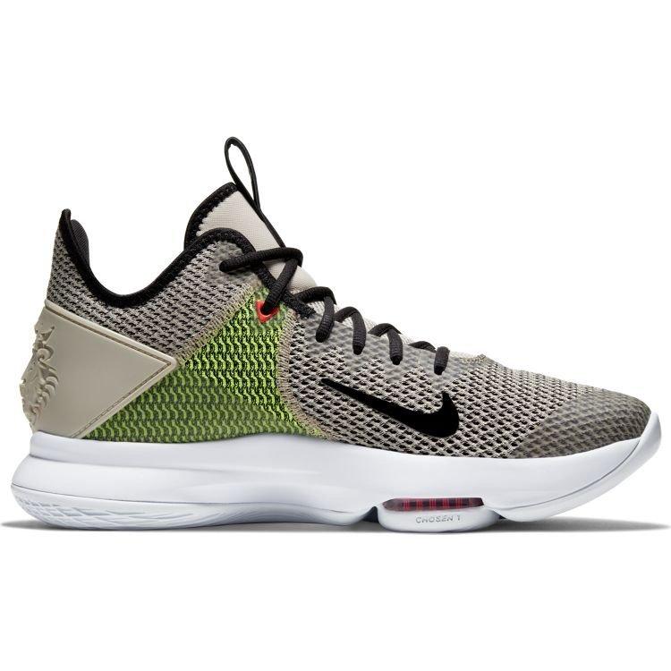 Nike Basketball Nike Lebron Witness IV Beige Zwart