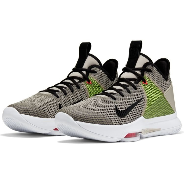 Nike Basketball Nike Lebron Witness IV Beige Schwarz