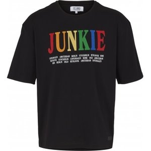 Just Junkies Just Junkies Creator Tee Schwarz