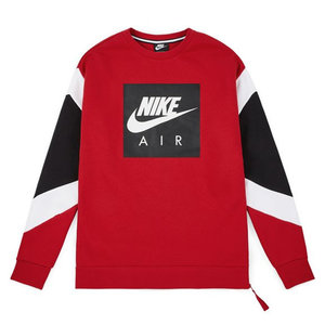 Nike Nike Air Crewneck Red White Grey