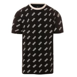 Vans Retro Allover Vans T-shirt Black