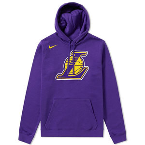 Nike Basketball Nike Los Angeles Lakers Hoodie Purple