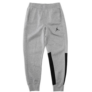 Nike Jordan Flight Fleece Cuff Pants Grau